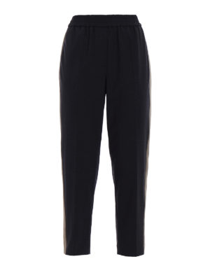 Brunello Cucinelli: casual trousers - Fluid Pull-Up Cigarette trousers