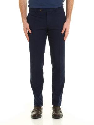 Brunello Cucinelli: casual trousers online - Cotton slim fit trousers