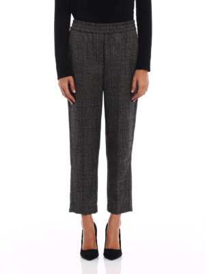 Brunello Cucinelli: casual trousers online - Fluid Cigarette wool trousers