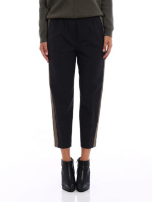 Brunello Cucinelli: casual trousers online - Fluid Pull-Up Cigarette trousers