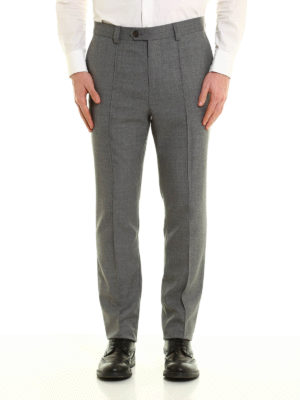 Brunello Cucinelli: casual trousers online - Lightweight wool trousers