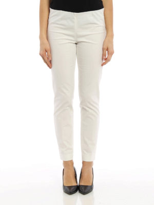 Brunello Cucinelli: casual trousers online - Pull on tapered trousers