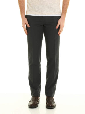 Brunello Cucinelli: casual trousers online - Slim fit cotton trousers