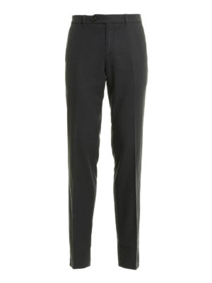 Brunello Cucinelli: casual trousers - Slim fit cotton trousers
