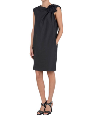 Brunello Cucinelli: cocktail dresses online - Flower embellished shift dress