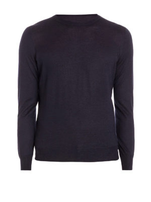 Brunello Cucinelli: crew necks - Cashmere silk lightweight sweater