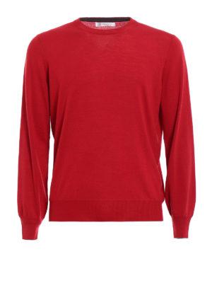 Brunello Cucinelli: crew necks - Knitted wool and cashmere crewneck