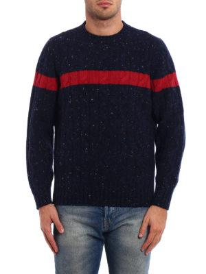 Brunello Cucinelli: crew necks online - Bouclé twist knitted wool sweater