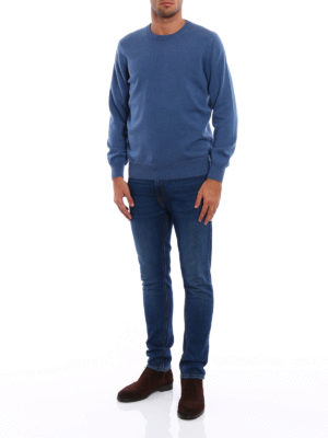 Brunello Cucinelli: crew necks online - Cashmere crew neck sweater