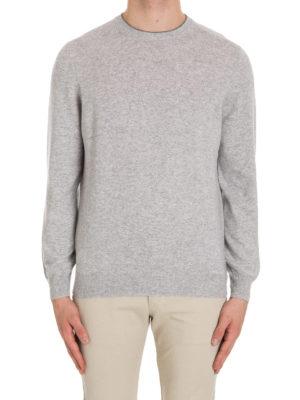 Brunello Cucinelli: crew necks online - Cashmere crew neck sweater