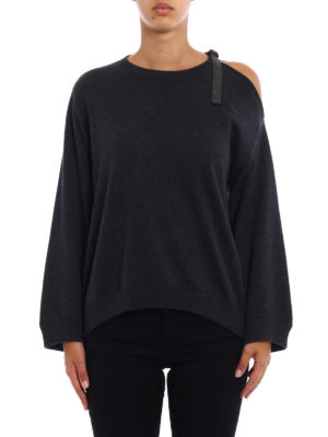 Brunello Cucinelli: crew necks online - Cashmere precious detail sweater