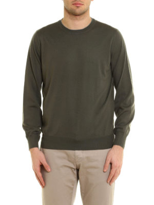 Brunello Cucinelli: crew necks online - Knitted wool and cashmere crewneck