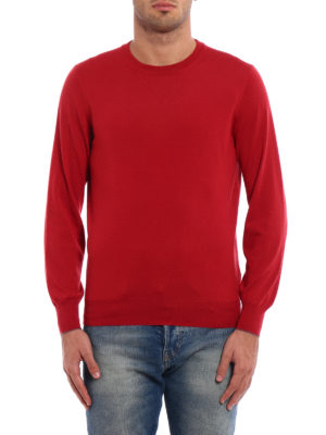 Brunello Cucinelli: crew necks online - Knitted wool and cashmere crewneck