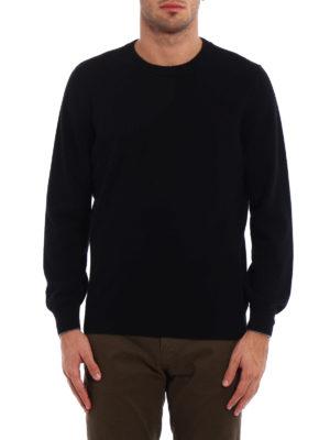 Brunello Cucinelli: crew necks online - Wool cashmere and silk crewneck