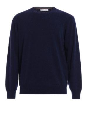 Brunello Cucinelli: crew necks - Wool cashmere and silk crewneck