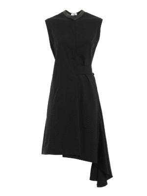 Brunello Cucinelli: knee length dresses - Cotton blend bow  waist dress