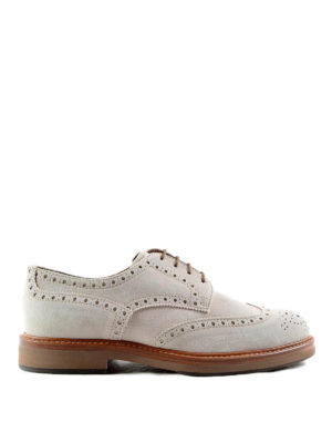 Brunello Cucinelli: lace-ups shoes - Brogue detailed Derby shoes