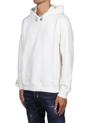 BRUNELLO CUCINELLI: Felpe e maglie online - Felpa in cotone stretch bianco