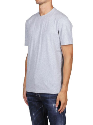 BRUNELLO CUCINELLI: t-shirt online - T-shirt slim fit in cotone melange
