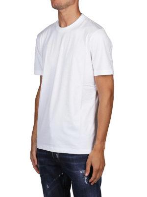 BRUNELLO CUCINELLI: t-shirt online - T-shirt slim fit in cotone bianco