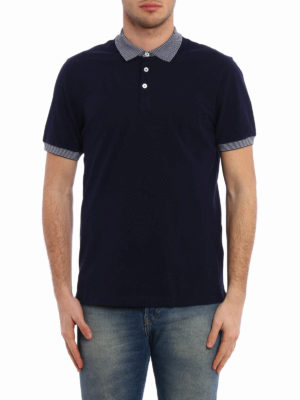 Brunello Cucinelli: polo shirts online - Cotton jersey polo