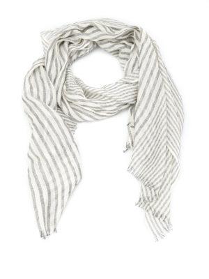 Brunello Cucinelli: scarves - Cashmere and lurex  scarf