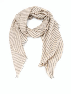 Brunello Cucinelli: scarves - Cashmere and lurex  scarf