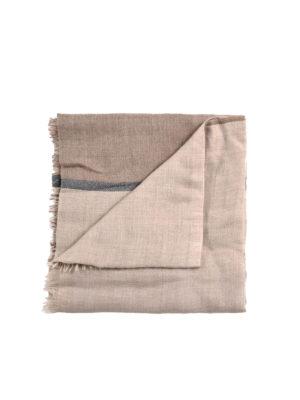 Brunello Cucinelli: scarves - Cashmere and silk scarf