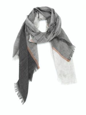 Brunello Cucinelli: scarves - Karakorum cashmere and silk scarf