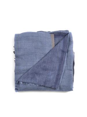 Brunello Cucinelli: scarves - Karakorum cashmere blend scarf