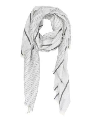 Brunello Cucinelli: scarves - Lamé scarf