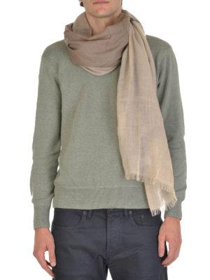 Brunello Cucinelli: scarves online - Cashmere and silk scarf