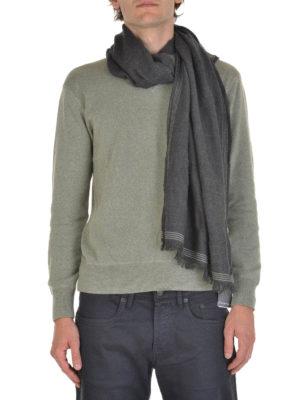 Brunello Cucinelli: scarves online - Wool and silk scarf