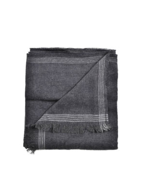 Brunello Cucinelli: scarves - Wool and silk scarf