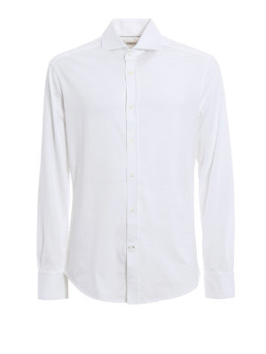 Brunello Cucinelli: shirts - Cotton jersey shirt