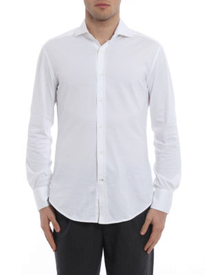 Brunello Cucinelli: shirts online - Cotton jersey shirt