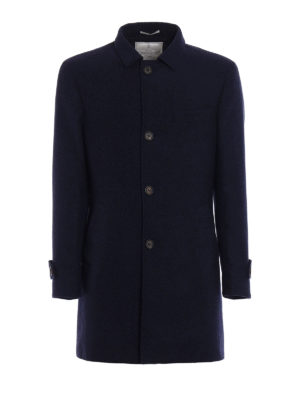 Brunello Cucinelli: short coats - Single breasted nylon inner coat