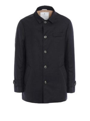 Brunello Cucinelli: short coats - Water repellent wool caban