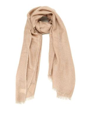 Brunello Cucinelli: Stoles & Shawls - Cashmere blend shimmering stole