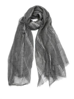 Brunello Cucinelli: Stoles & Shawls - Cashmere maxi shawl