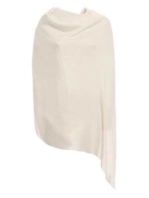 Brunello Cucinelli: Stoles & Shawls - Sequined cashmere and silk stole