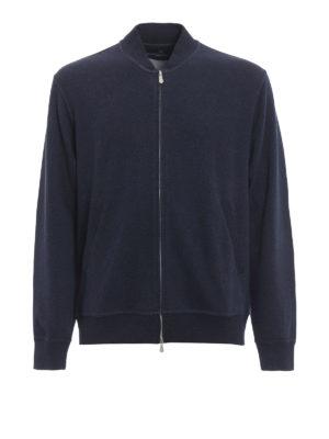 Brunello Cucinelli: Sweatshirts & Sweaters - Bomber style zipped sweatshirt