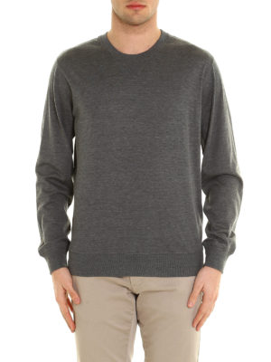 Brunello Cucinelli: Sweatshirts & Sweaters online - Silk and cotton jersey sweatshirt