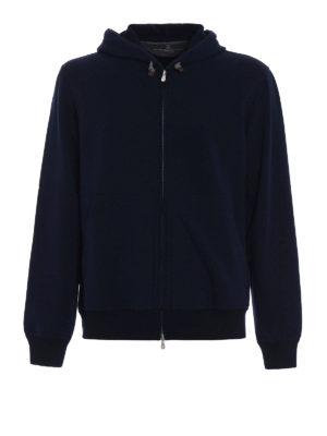 Brunello Cucinelli: Sweatshirts & Sweaters - Soft cotton zipped hoodie