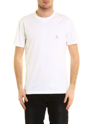 Brunello Cucinelli: t-shirts online - Cotton jersey T-shirt