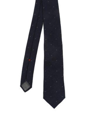 Brunello Cucinelli: ties & bow ties - Linen