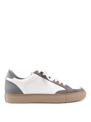 Brunello Cucinelli: trainers - Apollo leather and suede sneakers