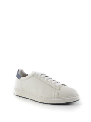 Brunello Cucinelli: trainers online - Hammered leather sneakers