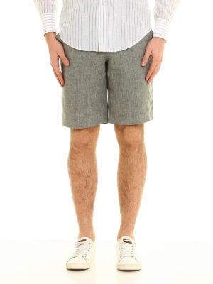 Brunello Cucinelli: Trousers Shorts online - Linen shorts