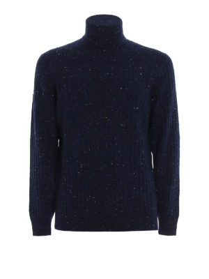 Brunello Cucinelli: Turtlenecks & Polo necks - Cashmere and wool ribbed turtleneck